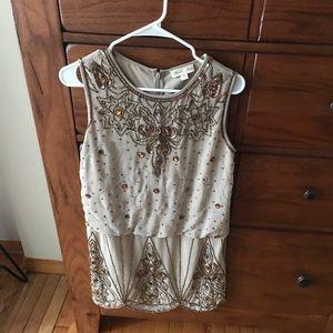 Beautiful flapper style dress